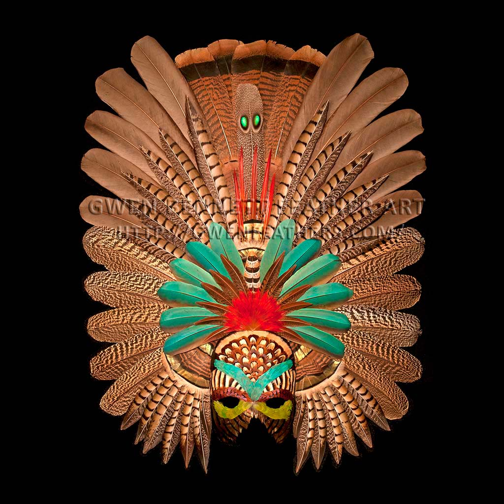 Feather Mask Zapotec II Mask